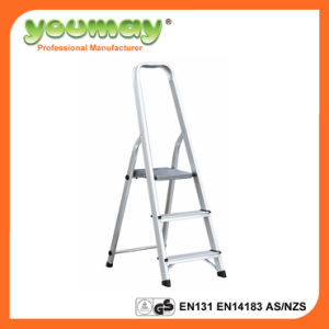 En131 Approved Aluminum Step Ladder Af0303A