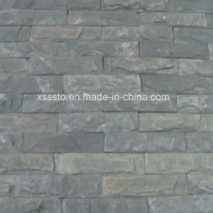 Grey Mushroom Culture Slate for Wall Covering pictures & photos