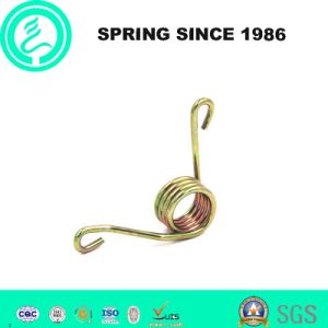 Custom High Precision Torsion Spring with Zinc-Plated pictures & photos
