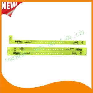 Vinyl Entertainment 3 Tab Plastic Wristbands ID Bracelet Bands (E6070-3-20) pictures & photos