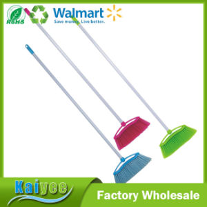 Wholesale Stainless Steel Long Handle Brooms with Durable Broom Bristle pictures & photos