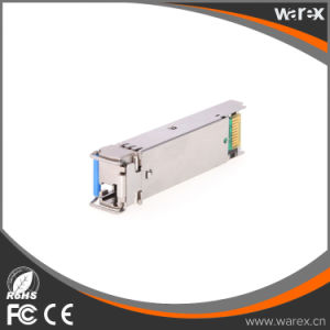 1000BASE-BX-U LC, 40 Km, 1310-nm TX/1490-nm RX wavelength, 40km SFP transceiver Cisco pictures & photos