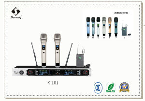 Cheap UHF Wireless Handheld Microphone K-101