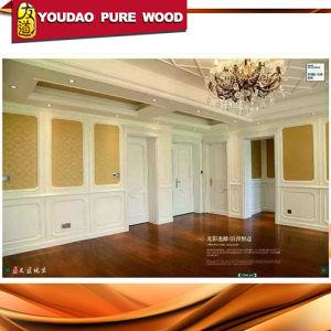 Indian Type Room Wood Door with Carving Design