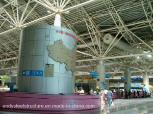 China Supplier Large Span Space Frame Roof for Airport Terminal pictures & photos
