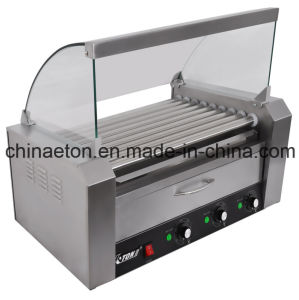 9 Rollers Hot-Dog Roller with Warmer ET-XCJ-B-9 pictures & photos
