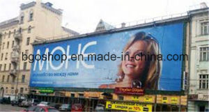 PVC Frontlit Flex Banner Canvas Roll up Printing (500dx500d 9X9 440g) pictures & photos