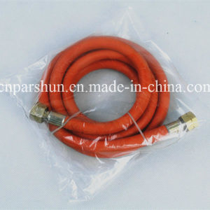 ISO 9001 Working Pressure 20 Bar Heat Resistant LPG Flexible Gas Pipe pictures & photos