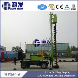 Hot Selling, Hf360-6 Trailer Type Hydraulic Piling Rig pictures & photos