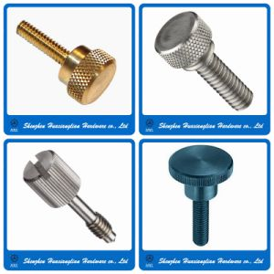 Stainless Steel Brass Big Head Knurled Thumb Screw (M3 M4 M5 M6) pictures & photos
