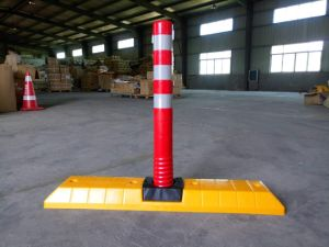 PU Flexible Delineator Post 750mm Lane Dividers Separator pictures & photos