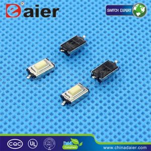 3X6 SMD Momentary Tact Switch, Tactile Switch (KFC-003A) pictures & photos