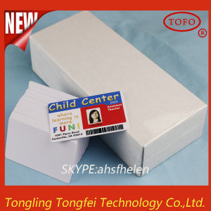 Glossy Finish White PVC Blank Card for Inkjet Printer pictures & photos