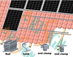 Solar Home System Rooftop Bracket pictures & photos