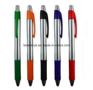 Customized Logo Click Ballpoint Plastic Pen for Advertising pictures & photos