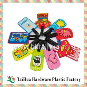 Cartoon Card Soft PVC Luggage Tag pictures & photos