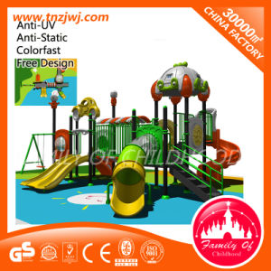 Nursery School Plastic Playground Slide Outdoor Play Equipment pictures & photos