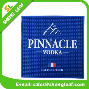 Drink Beer Soft PVC Rubber Bar Mat (SLF-BM025) pictures & photos