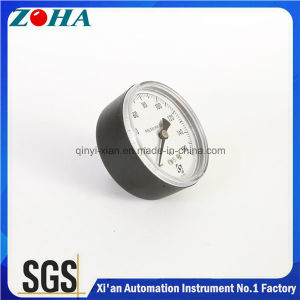 Axial Pressure Gauges for America Market with Hpb59-1 Brass Connector pictures & photos