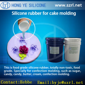 RTV Liquid Additon Silicone Rubber for Cake Mold pictures & photos