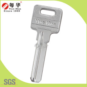 Wholesale Brass Key Blank for Key Copy Machine with Nickel Plated pictures & photos