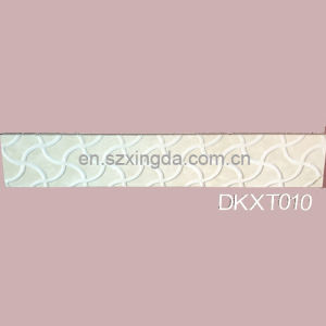 White Polished Marble Carving Tile