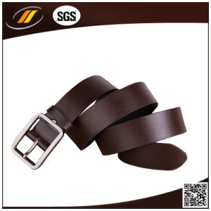Fashion Women Black PU Leather Belt Metal Pin Buckle Waist Strap Belts Waistband (HJ3001)
