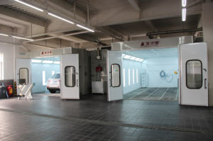 Linking Spray Booth From Jzj Spray Booth Manufacturer pictures & photos