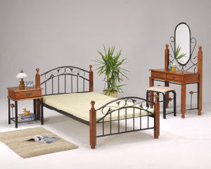 Dormitory Strong Steel Spring Bed Frame