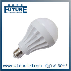 Plastic E27/E14 LED Light Bulb Parts for India Market pictures & photos