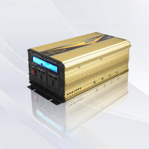 1500watt Inverter DC12V/24V AC220V/110 Pure Sine Wave with UPS Charge LCD Display pictures & photos