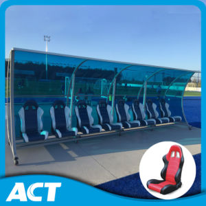 8 Seater Luxury Soccer Reverse Bench/ Player Seats for Outdoor pictures & photos