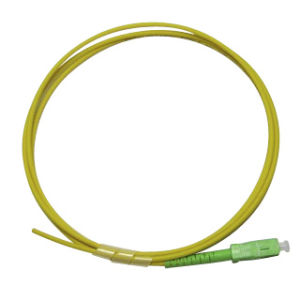 Sc/APC Singlemode 9/125 Simplex Fibre Optical Pigtail Cable pictures & photos