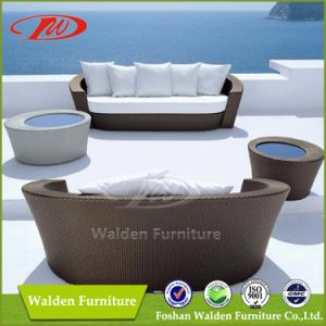 Outdoor Furniture Beach Chair Chaise Lounge Sun Lounger Daybed (DH-9568) pictures & photos