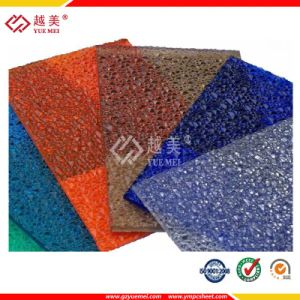 Embossed Polycarbonate Roofing Sheet Textured Solid Sheet Price PC Sheet pictures & photos