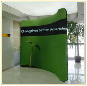 Wholesale-Displays 10FT Curved Tension Fabric Trade Show Display pictures & photos