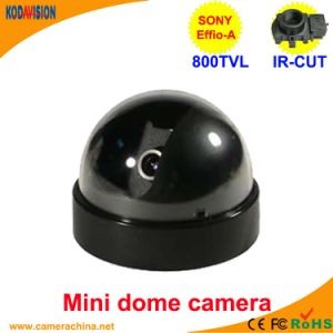 Sony Effio-a CCD 800tvl Miniature Dome Security CCTV Camera pictures & photos