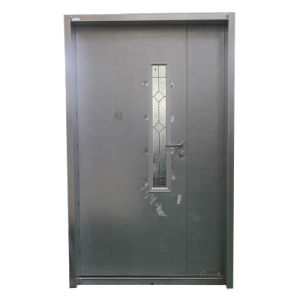 UL Steel Glass Hollow Fire Door pictures & photos