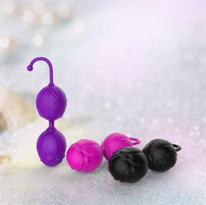 Full Silicone Weighted Smart Love Balls Sex Toys for Woman pictures & photos