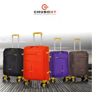 Chubont Double Wheels 4 Wheels Nylon Trolley Luggage Bag pictures & photos