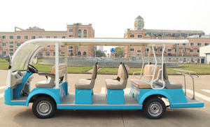 Luxury Design 14 Seats Elecric Sightseeing Bus Whole Sale pictures & photos