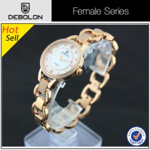 5ATM Water Resistant Stainless Steel Women Branded Watch