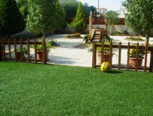 Artificial Landcasping Turf Soft Backing Garden Grass pictures & photos