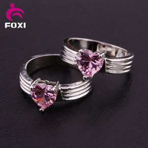 Fashion Plated 18k Gold and White Gold CZ Rings pictures & photos