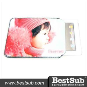 Bestsub Sublimation Printable Neoprene Sleeve Tablet Case for iPad (IPD04) pictures & photos