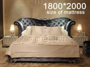 2016 New Collection Bed European Style Bed Ls-411 Hot Sales Bed New Design Bed Design Hotel Beds pictures & photos