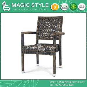 Armchair Dining Chair Weaving Chair Wicker Chair Rattan Chair Patio Chair (MAGIC STYLE) pictures & photos