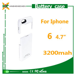 High Capacity 3200mAh Back Cover Battery Case for iPhone 6 Portable Charger pictures & photos