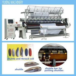 Yuxing Computer Lock Stitch (shuttle) Quilting Machine for Quilts pictures & photos