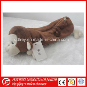 Cute Promotion Plush Toy Gift of Monkey Pencile Bag pictures & photos